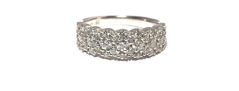 14K Pave Diamond Ring