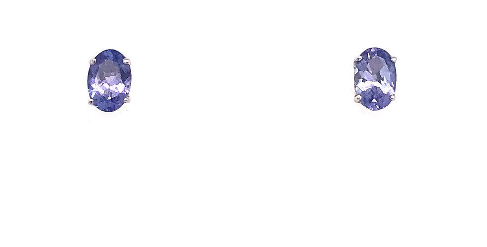 14KW Tanzanite Earrings