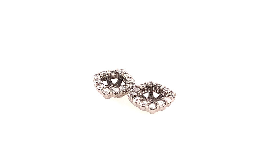 14KW Diamond Earring Jackets