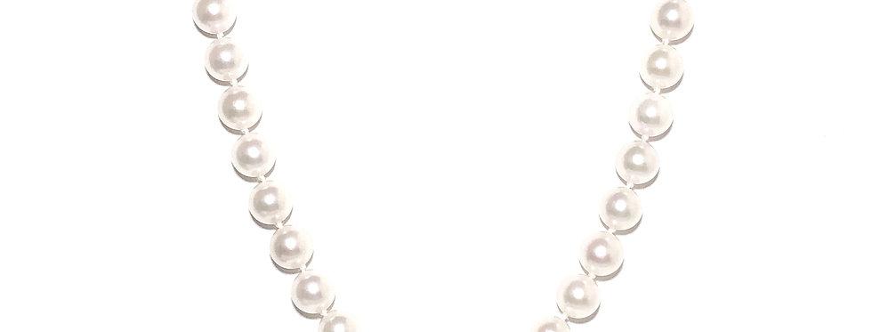 Strung Akoya Pearls