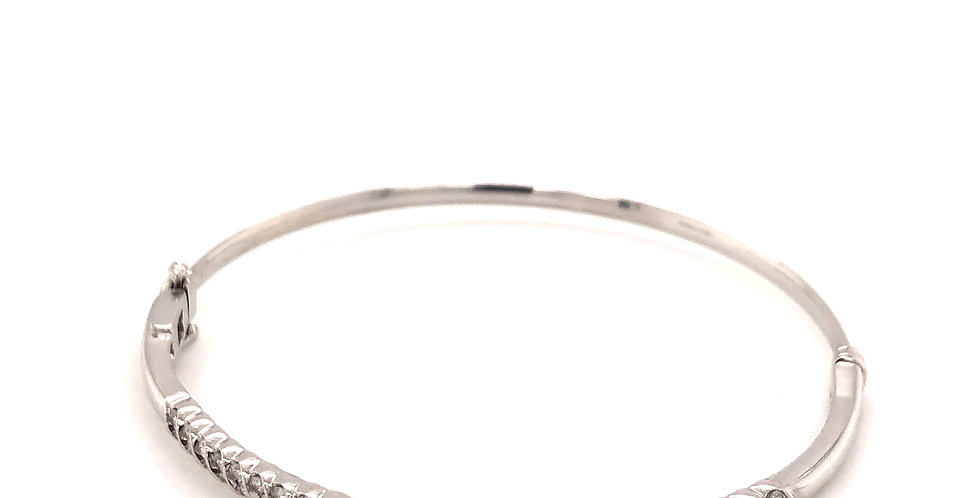 10KW Diamond Bangle Bracelet