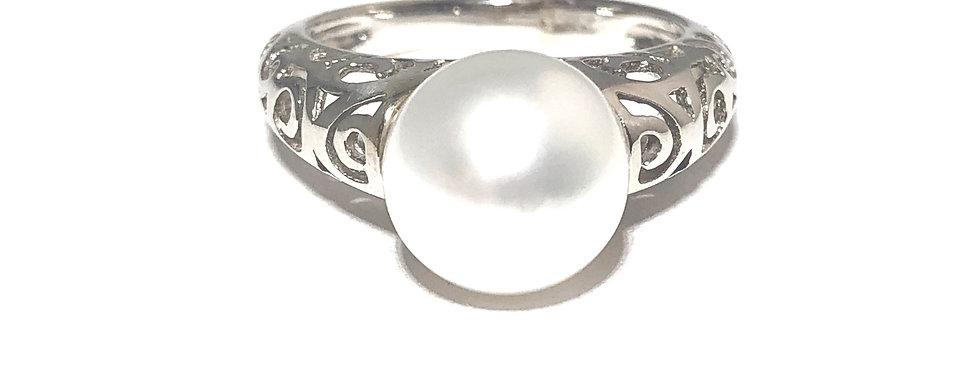 14K Pearl Ring