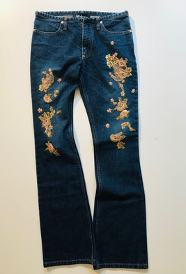DENIM PANTALON
