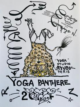 YOGA PANTHERE