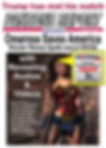 August 21 - Wonder Woman Omarosa - on Ma