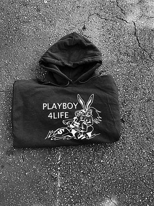 Black Playboy 4Life Hoodie