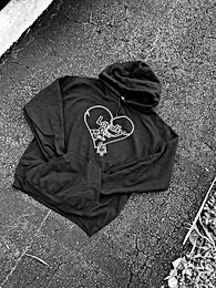 Black Loyalty Over Love Hoodie