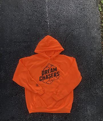 Neon Orange Dream Chasers Hoodie