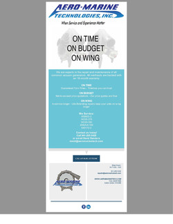 On Time   On Budget   On Wing