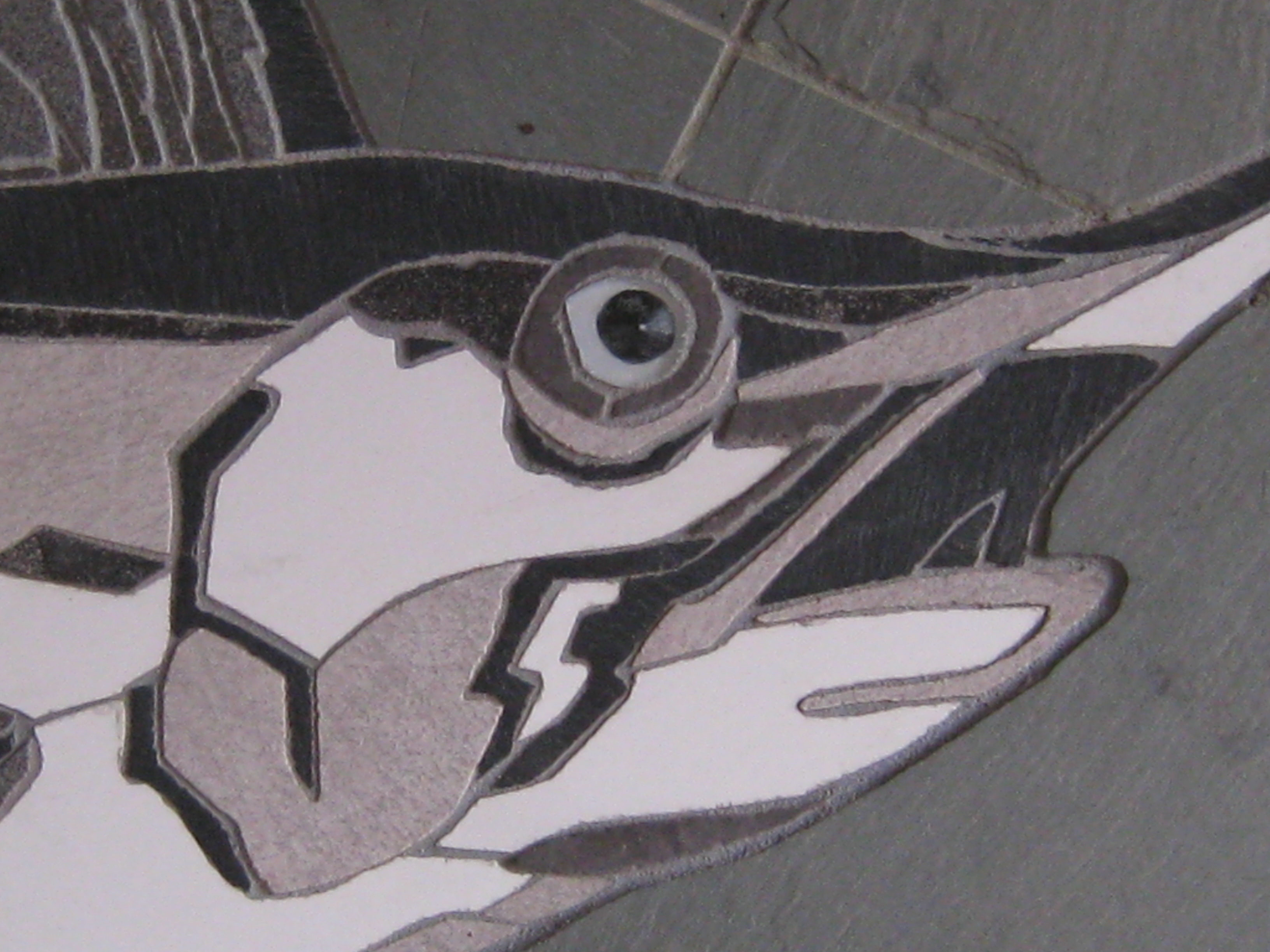 Swordfish up close detail