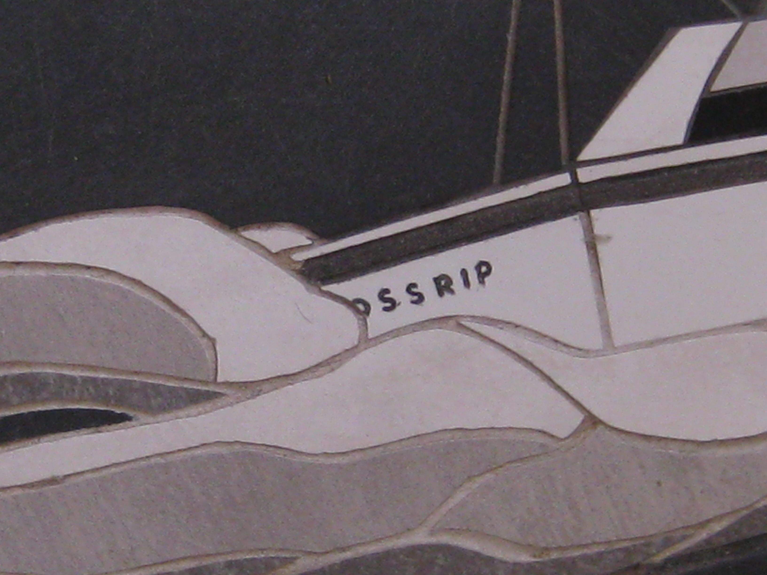 Detail of Crossrip Transom
