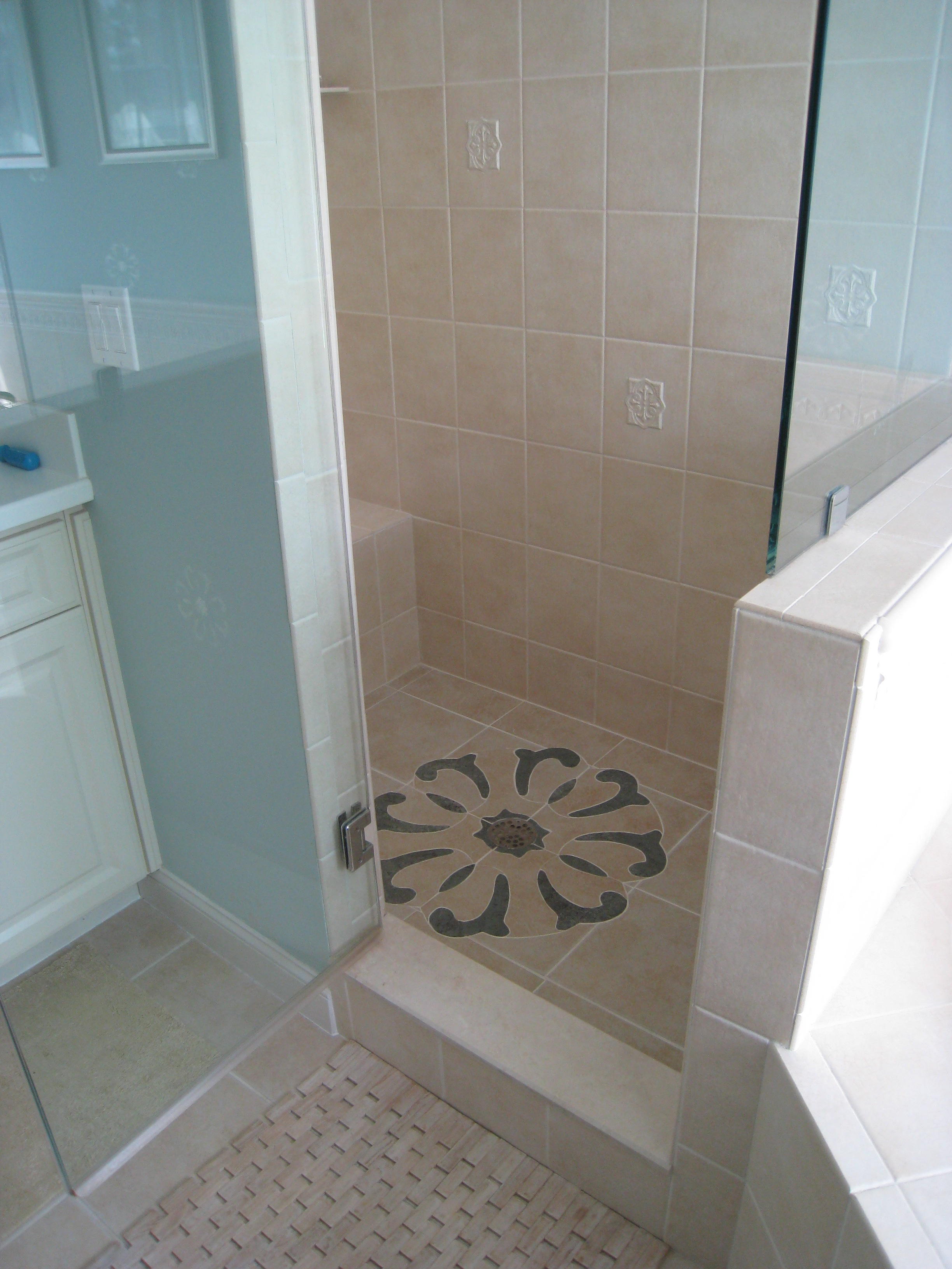 Finished Shower Floor