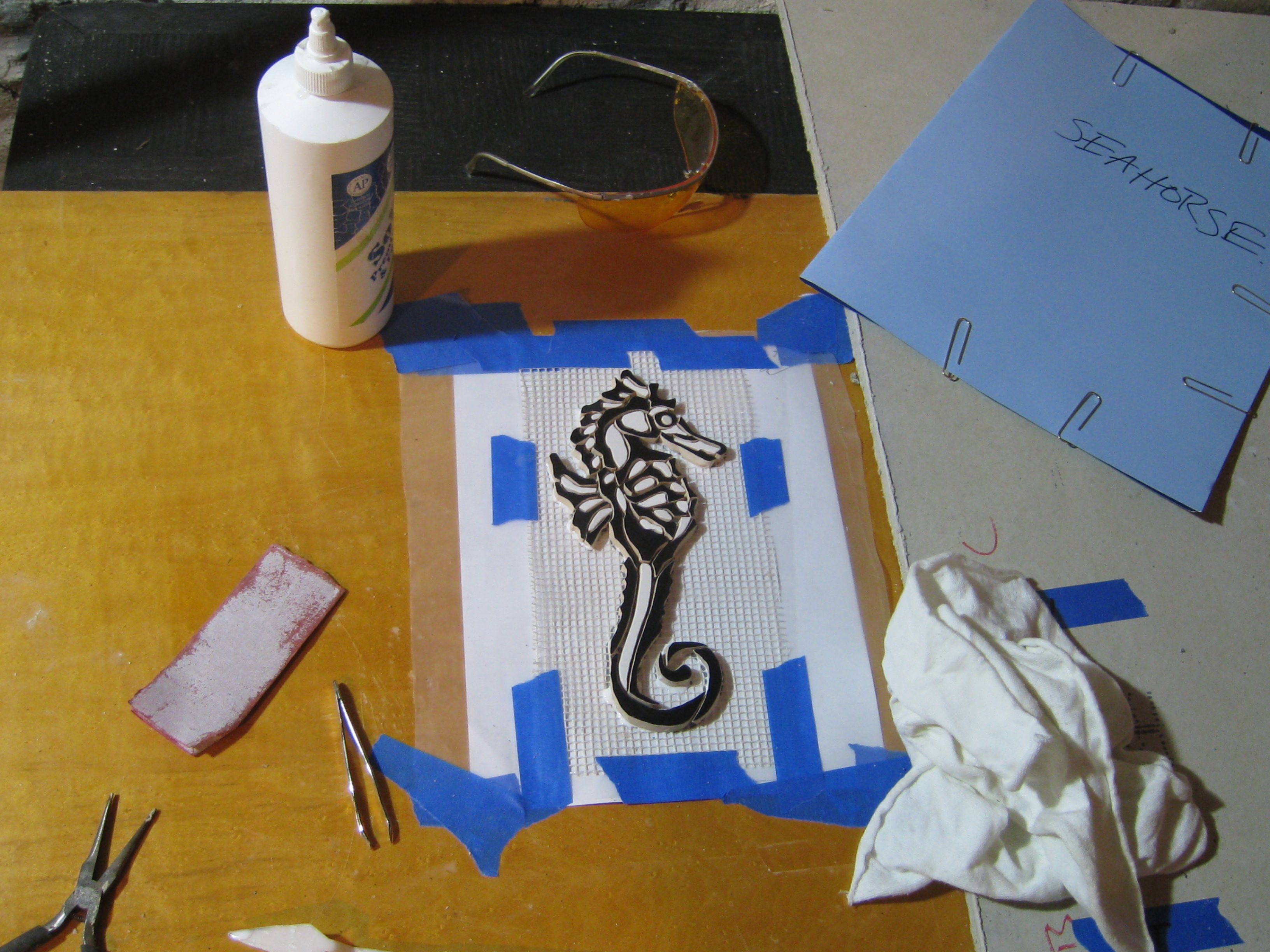 Seahorse Body Finished