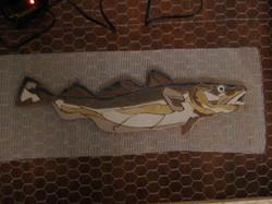 Cod Fish on Mesh