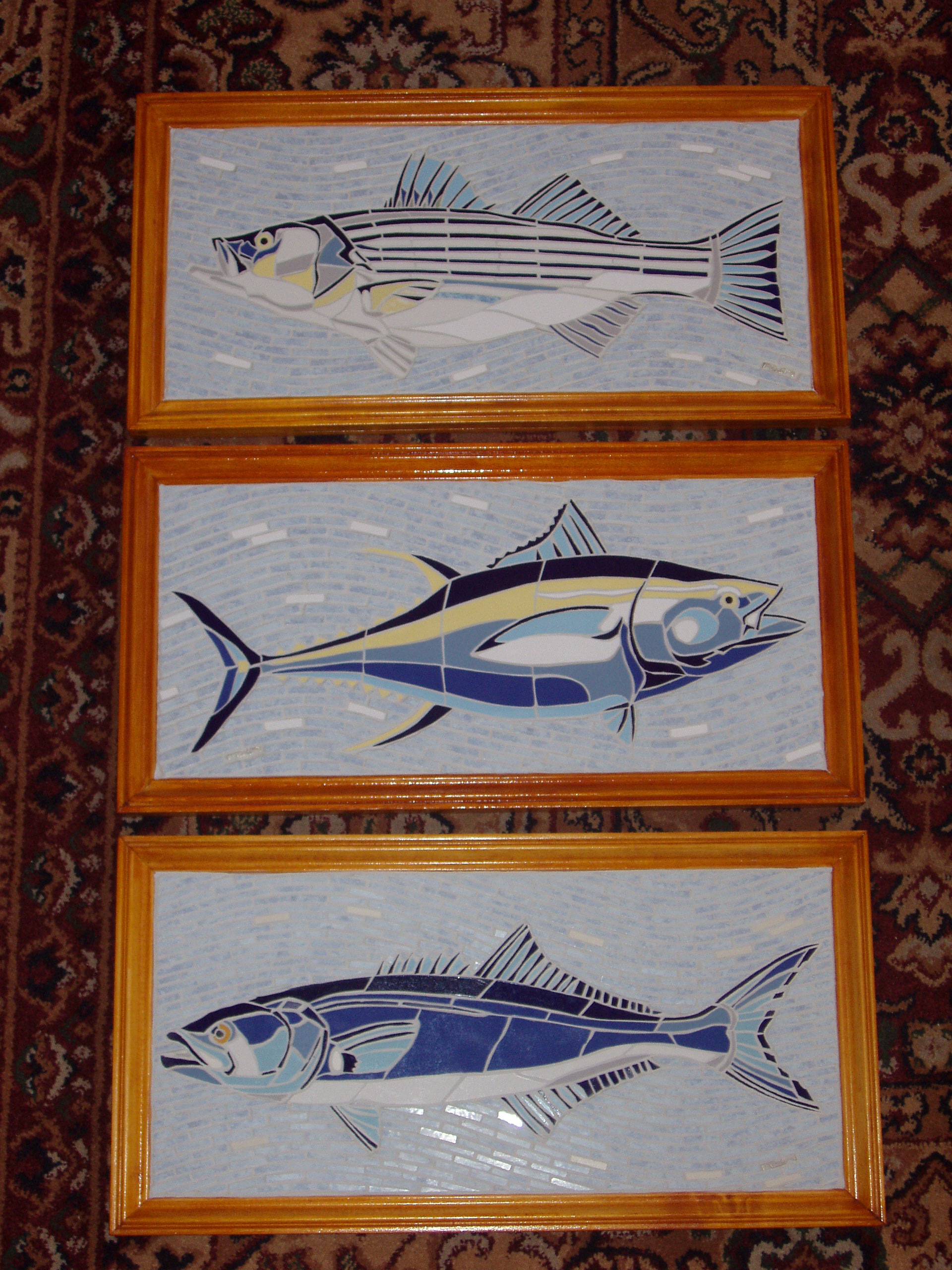 Framed Gamefish