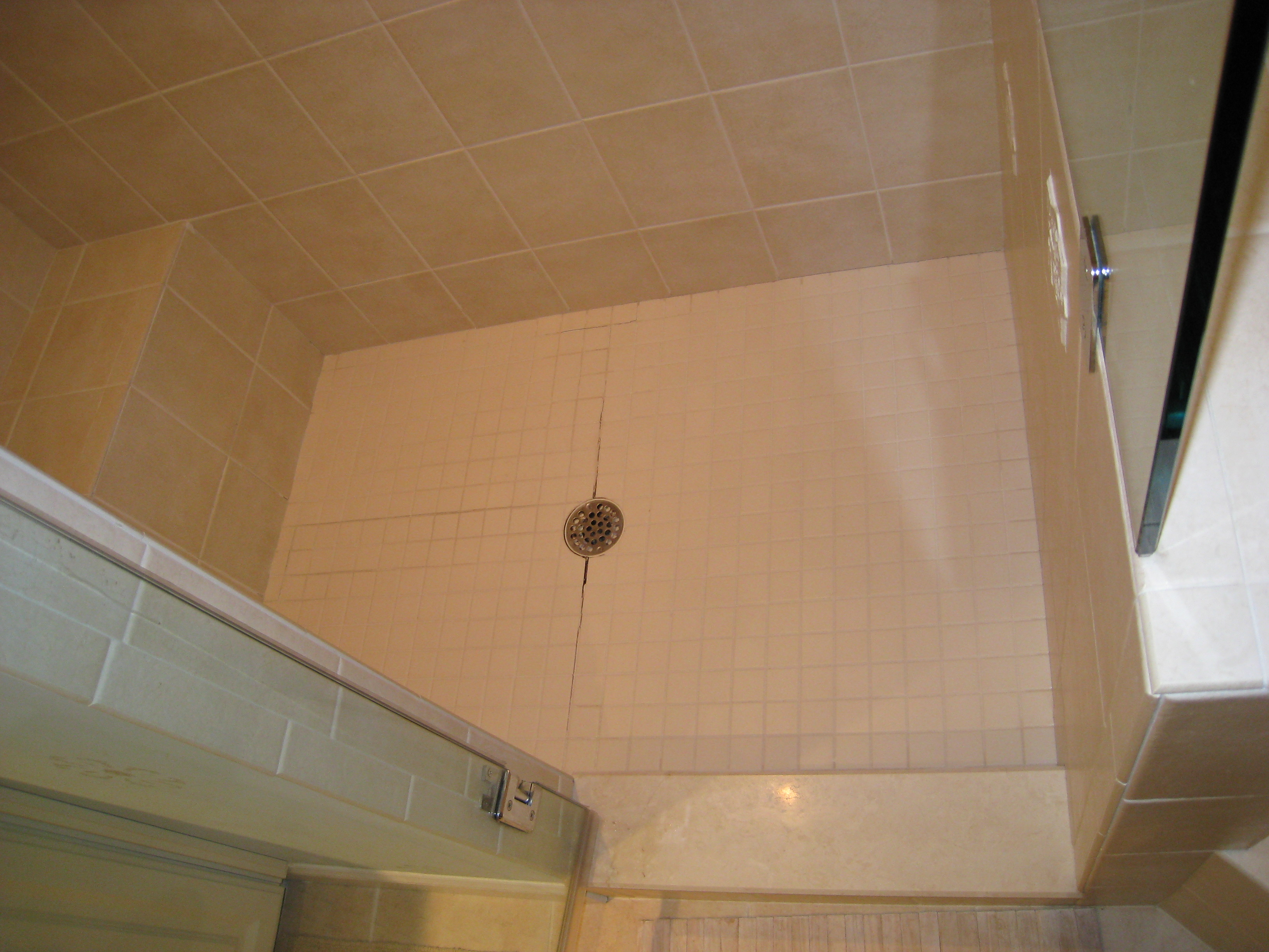 Original Shower Floor