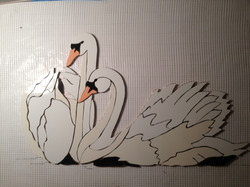 Geese on Mesh