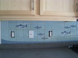 blue herrings in a row