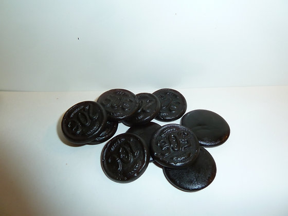 licorice salted coins  4oz
