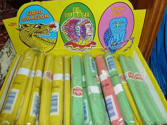 cigars, bubblegum