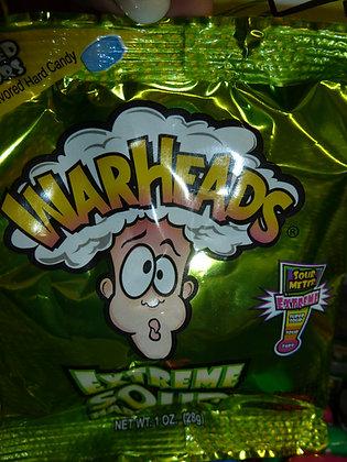 warhead sour pouch  1 oz