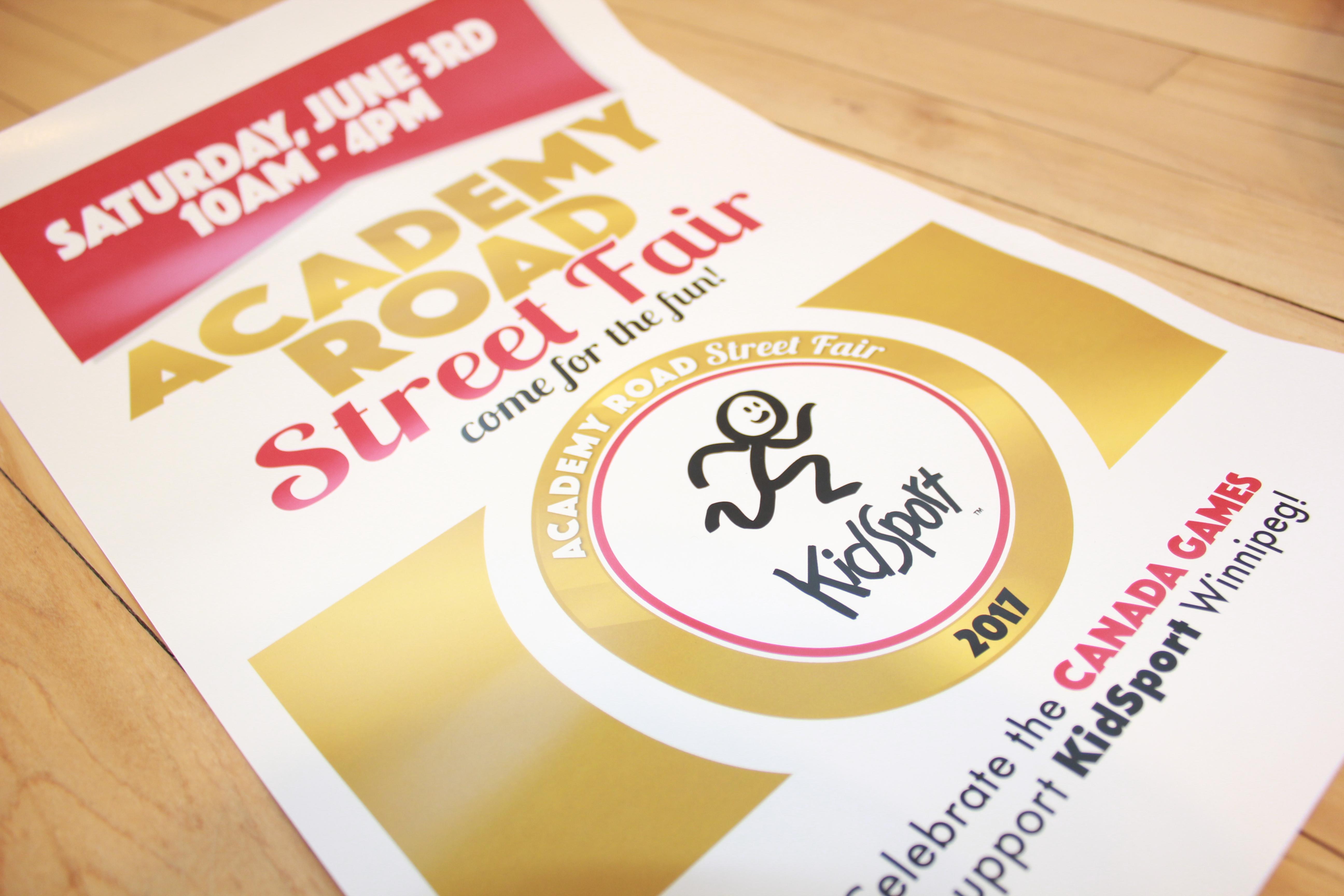 Academy Street Fair Poster