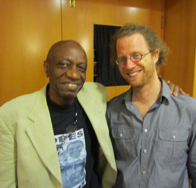 with Reggie Workman July 2010.jpg