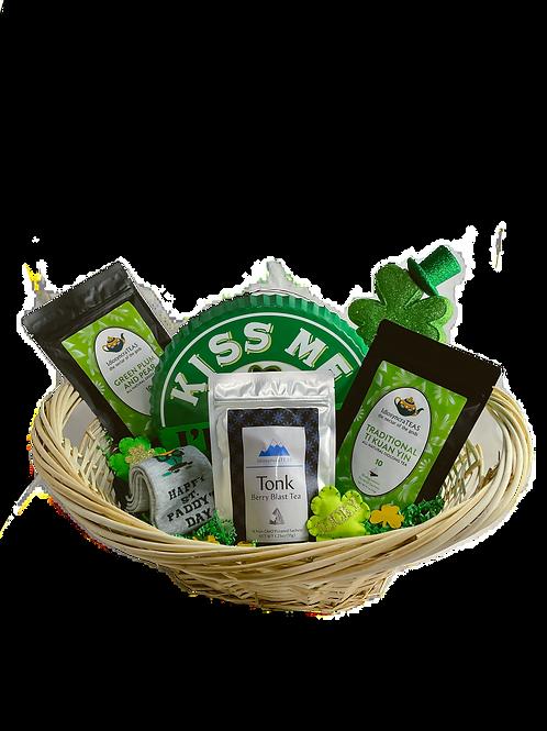 St. Patricks Day Gift Basket