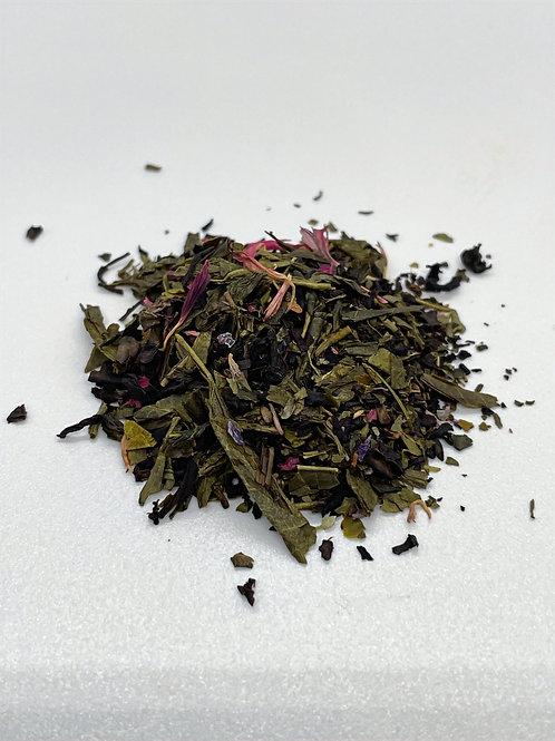 Blueberry Crumb Cake Green Tea