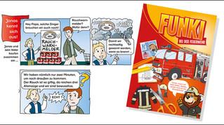 """Neuauflage eines Feuerwehr-Klassikers - """"Funki bei der Feuerwehr"""""""