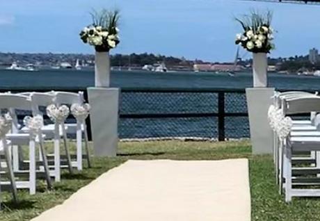 Modern White Plinths