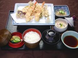 天ぷらの膳「梅」1700円