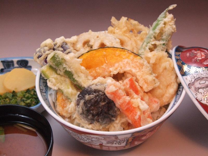 野菜天丼 1200円