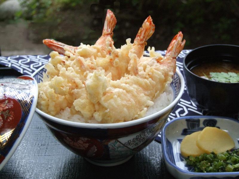 えび天丼 1200円