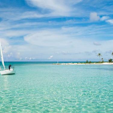 Enjoy the condo's private beach
