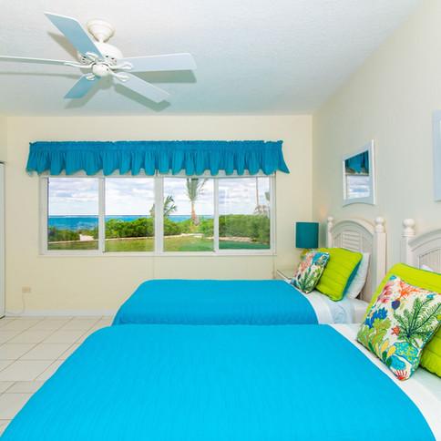 Bedroom 2 has gorgeous views too!