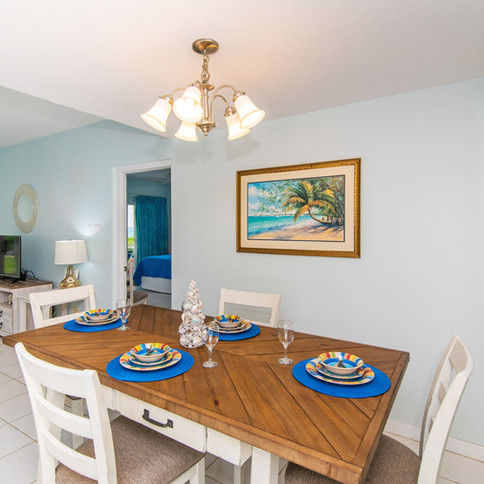Dining room and open floorplan is ideal.