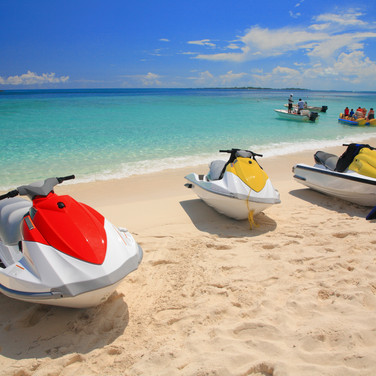 Rent jet skis at excursion desk