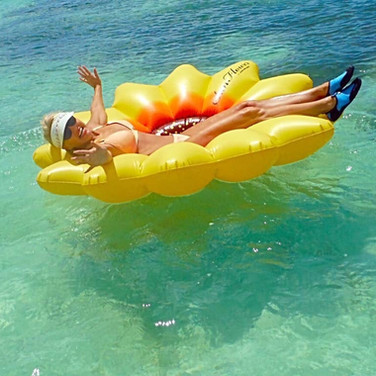 Float all your troubles away.