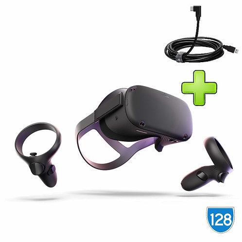 Oculus Quest 128gb + link кабель