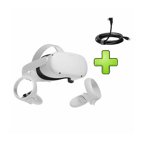 изображение Oculus Quest 2 64GB + Link-кабель в магазине formula-iq.com
