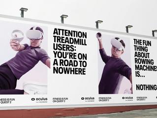 Facebook запустил оффлайновую рекламную кампанию Quest 2, связанную с фитнесом
