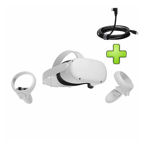 изображение Oculus Quest 2 256GB + Link-кабель в магазине formula-iq.com
