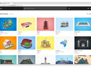 Google закрывают библиотеку моделей Google Poly