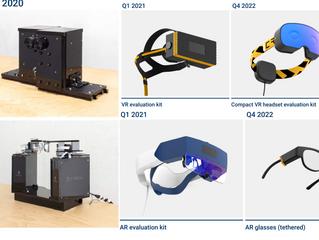 Creal показали прототипы своих VR- и AR-шлемов светового поля