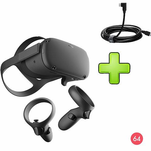 Oculus Quest 64gb + link кабель