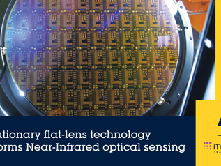 STMicroelectronics будут использовать метаоптику Metalenz в своих датчиках
