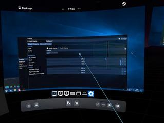 Слух: возможно, SteamVR скоро сможет показывать в дашборде отдельные окна