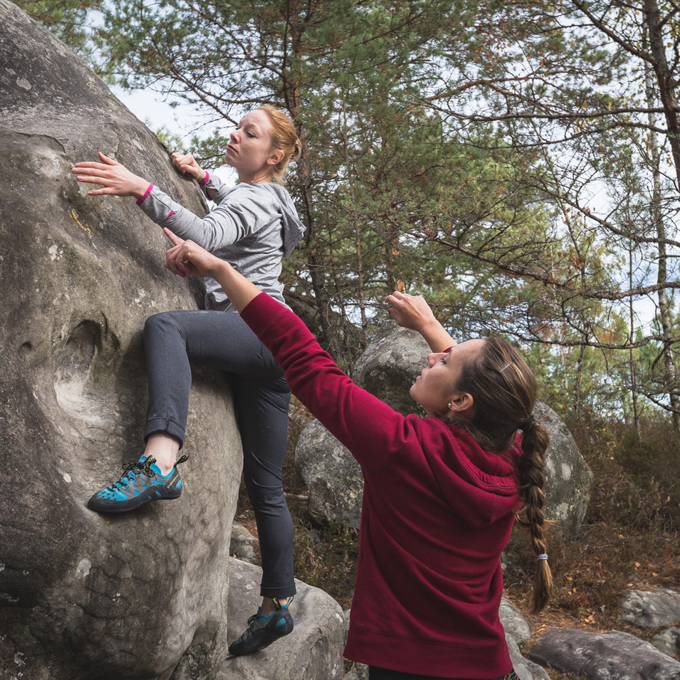 Climbing at l'Elephant 1 | andyday.com