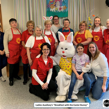 Ghent Fire Breakfast with Easter Bunny